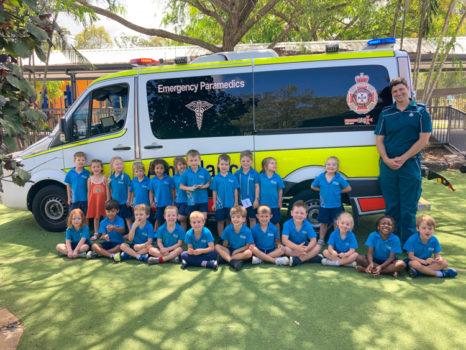 Noahs Ambulance Visit Term 4 2020 7