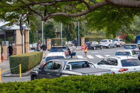 Car Park At Reedy 20203