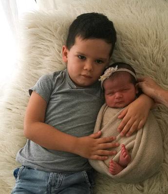Mr & Mrs Coleman's daughter, Aubrey