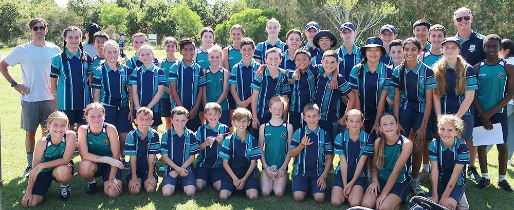 King's Pimpama Cross Country Team