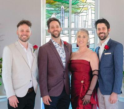 Nurse Sue Wedding Sons 3