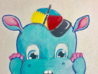 Hudson In A Hat Illustration 6
