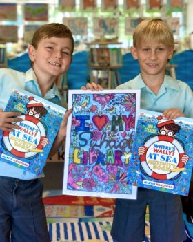 Winners For Library Colouring Comp 20211