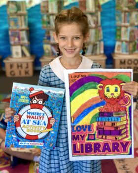 Winners For Library Colouring Comp 20214