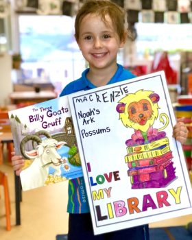 Winners For Library Colouring Comp 20215