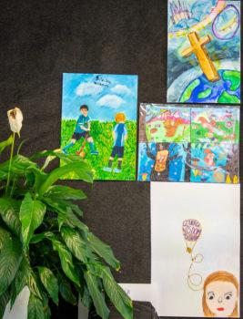 Living Purposefully Art Comp Winners Term 2 2