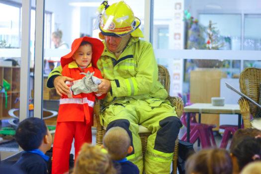 Noahs Ark Fireman Visit Term2 2