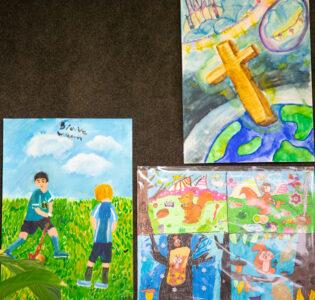 Living Purposefully Art Comp Winners Term 2 1