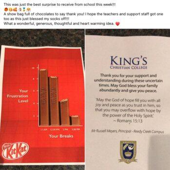 Kit Kat Comments From Naomi Grosser