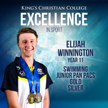 Elijah Year11 Sporting Excellence