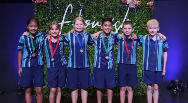 Swimming Winners 5