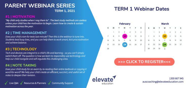 Elevate Webinar Flyer