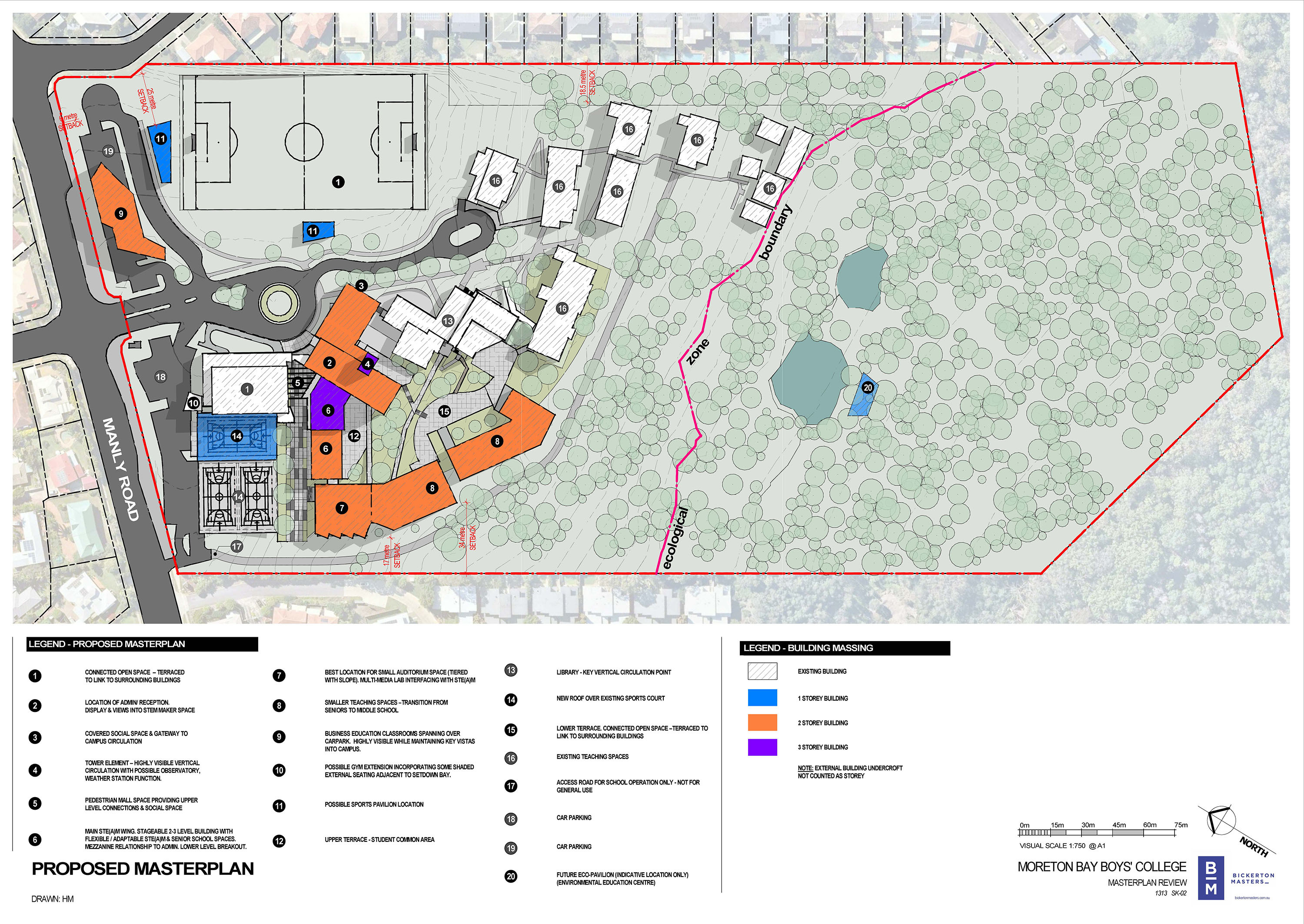 1313 Sk 02 Proposed Masterplan Small