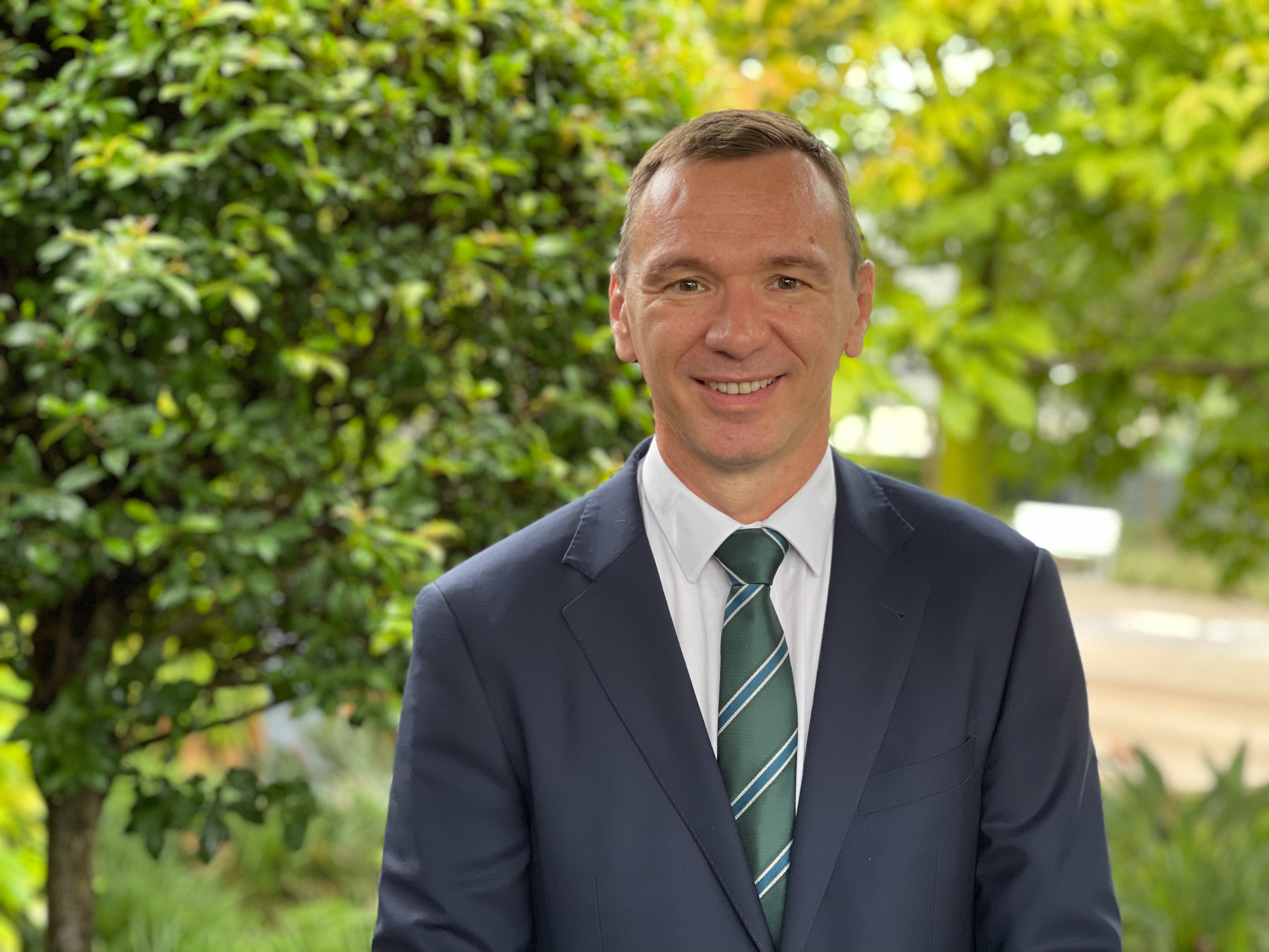 Mr Michael Bos | Director of International