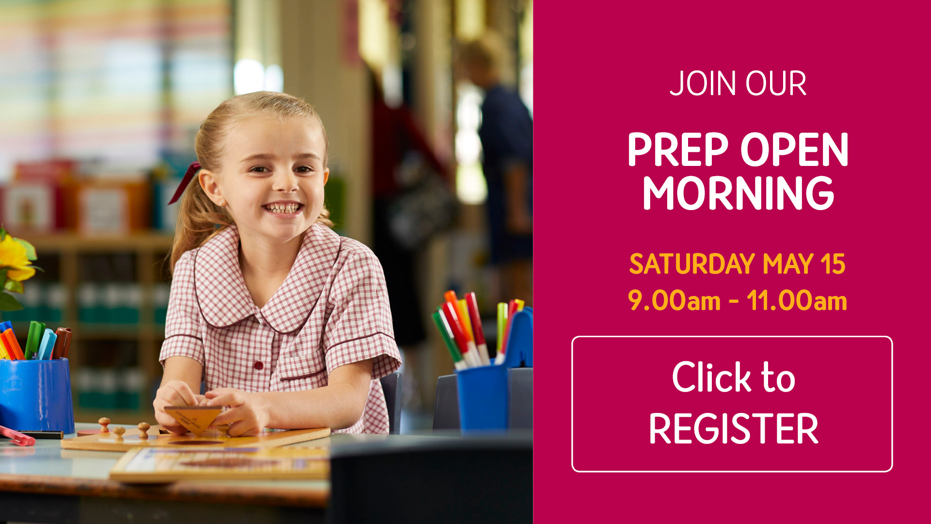 Prep Open Morning