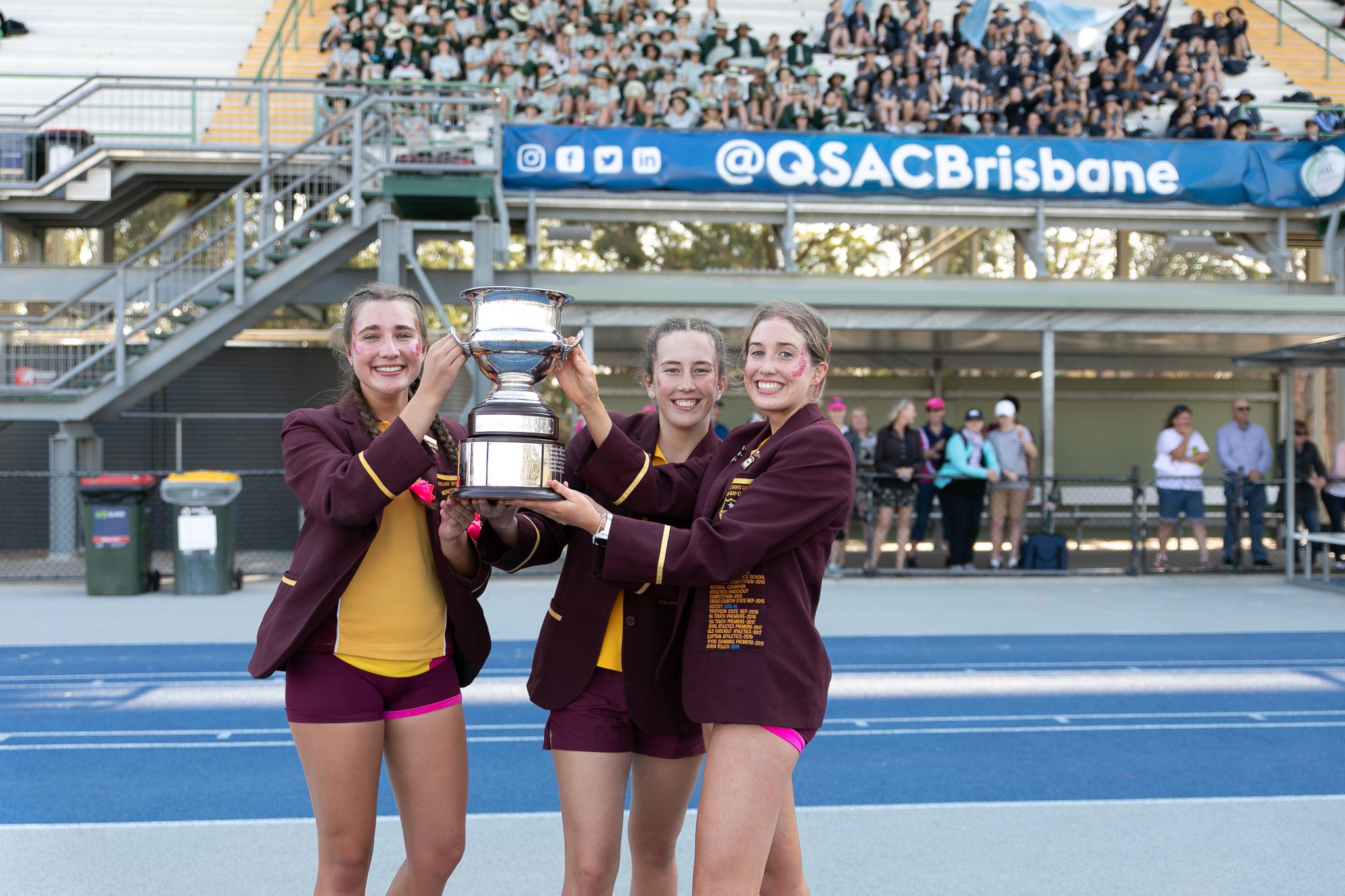 MBC wins fourth QGSSSA athletics Stephen's Cup