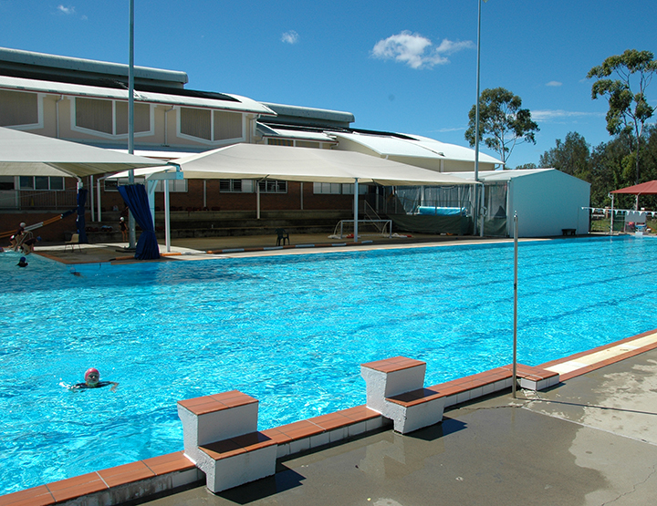The John Mason Swimming Pool