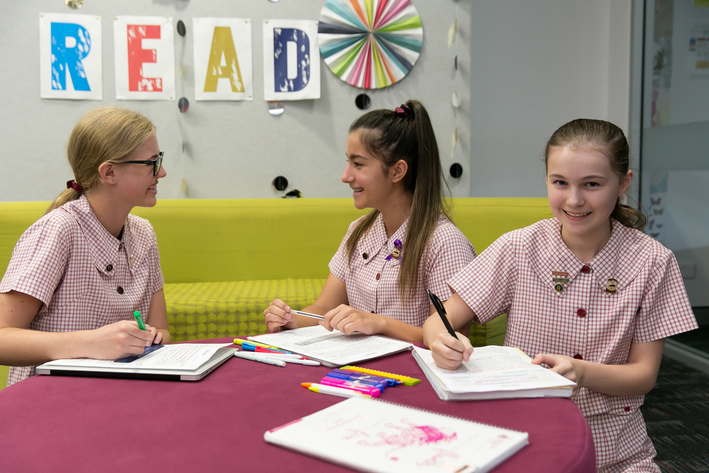A learning environment tailored to girls