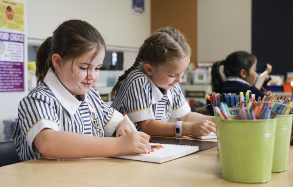 Students engage in a wide variety of activities