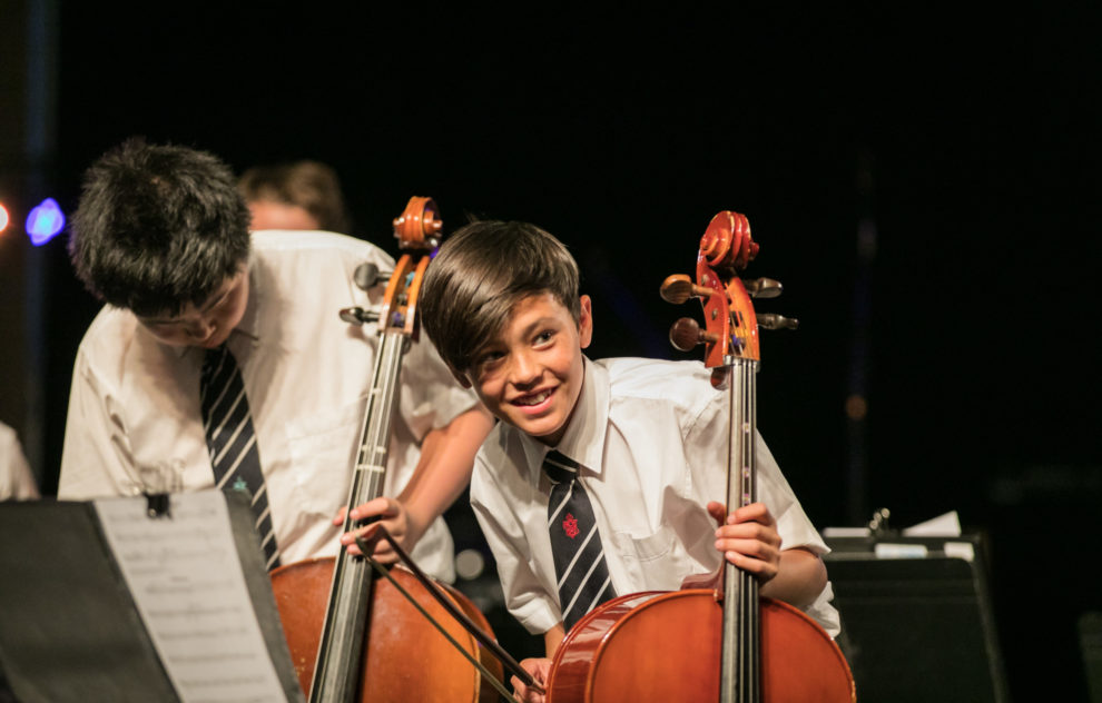 Bayview Students have access to numerous performance opportunities.