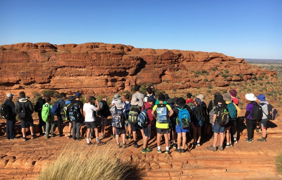Year 7 Central Australia Learning Journey