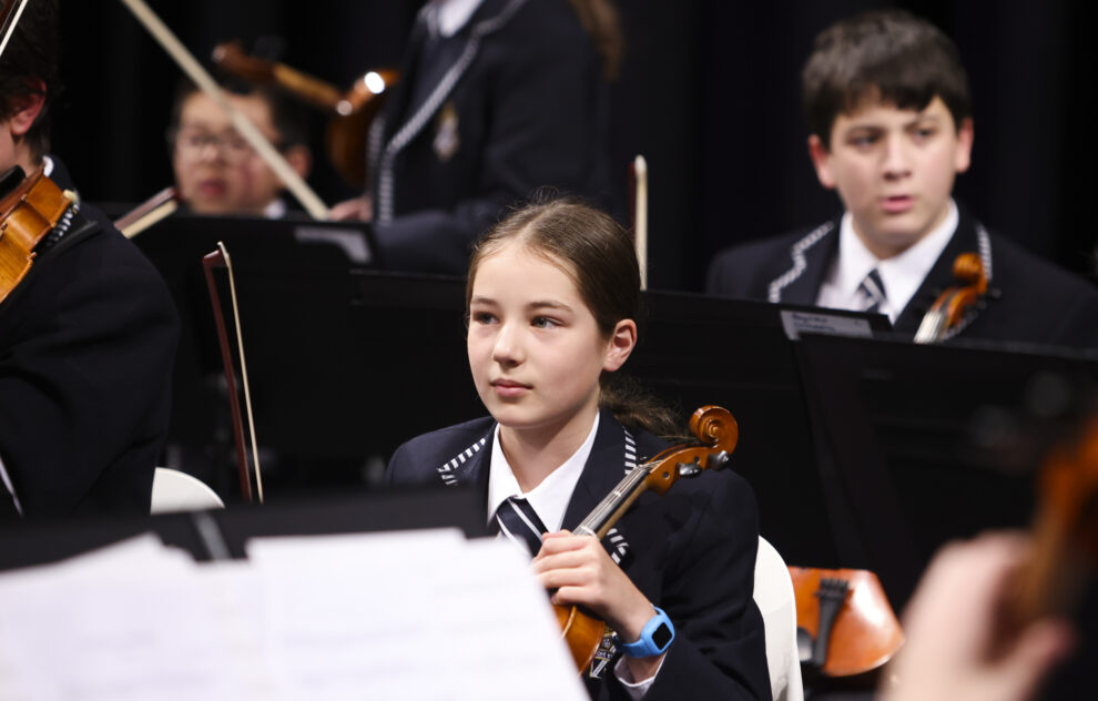 Music excellence at the Ensemble Concert