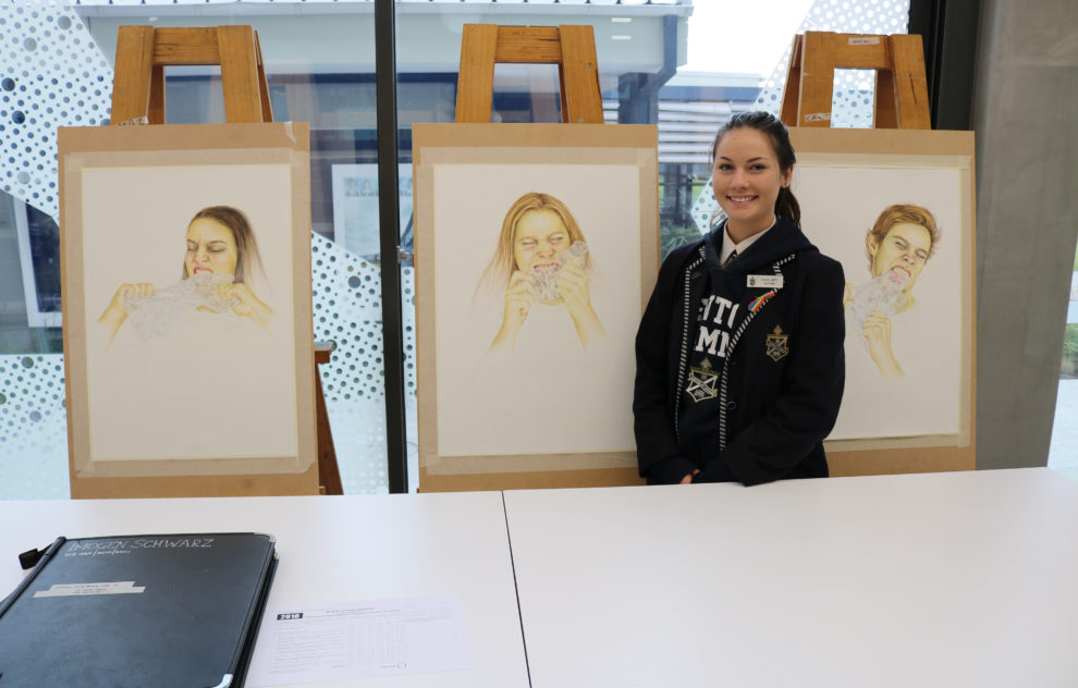 Yr 12 Students With Works Sem 1 11