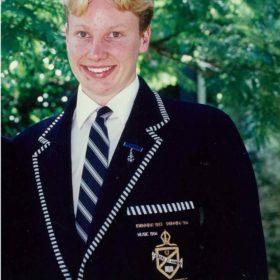 Deputy Head Prefect Marcus Robertson 1995