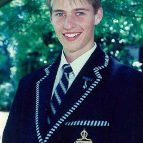 Head Prefect Peter Gowdie 1995