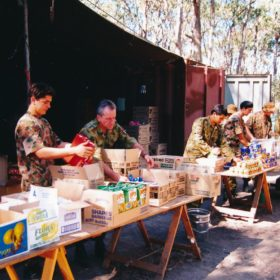 1998 Cadet Camp Lunch Time