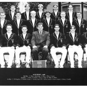 1998 Cricket Team