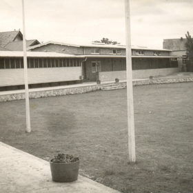 Oval view 1950's