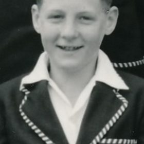 Bob Nottle U13 Cricket 1956