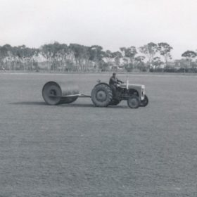 1967 Jack Lyall On The Tractor 2 Old Keysborough