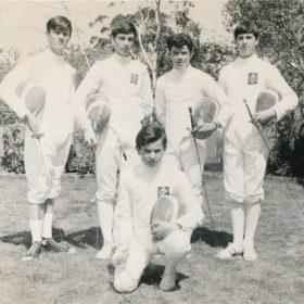 1968 Fencing Team