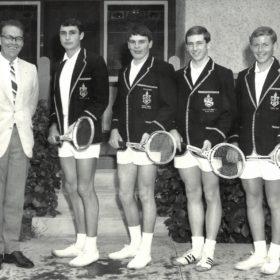 1968 John Wyatt Tennis Team