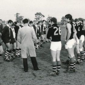 1968 Om Football V School Old Keysborough Ground Kwj Addressses The Teams