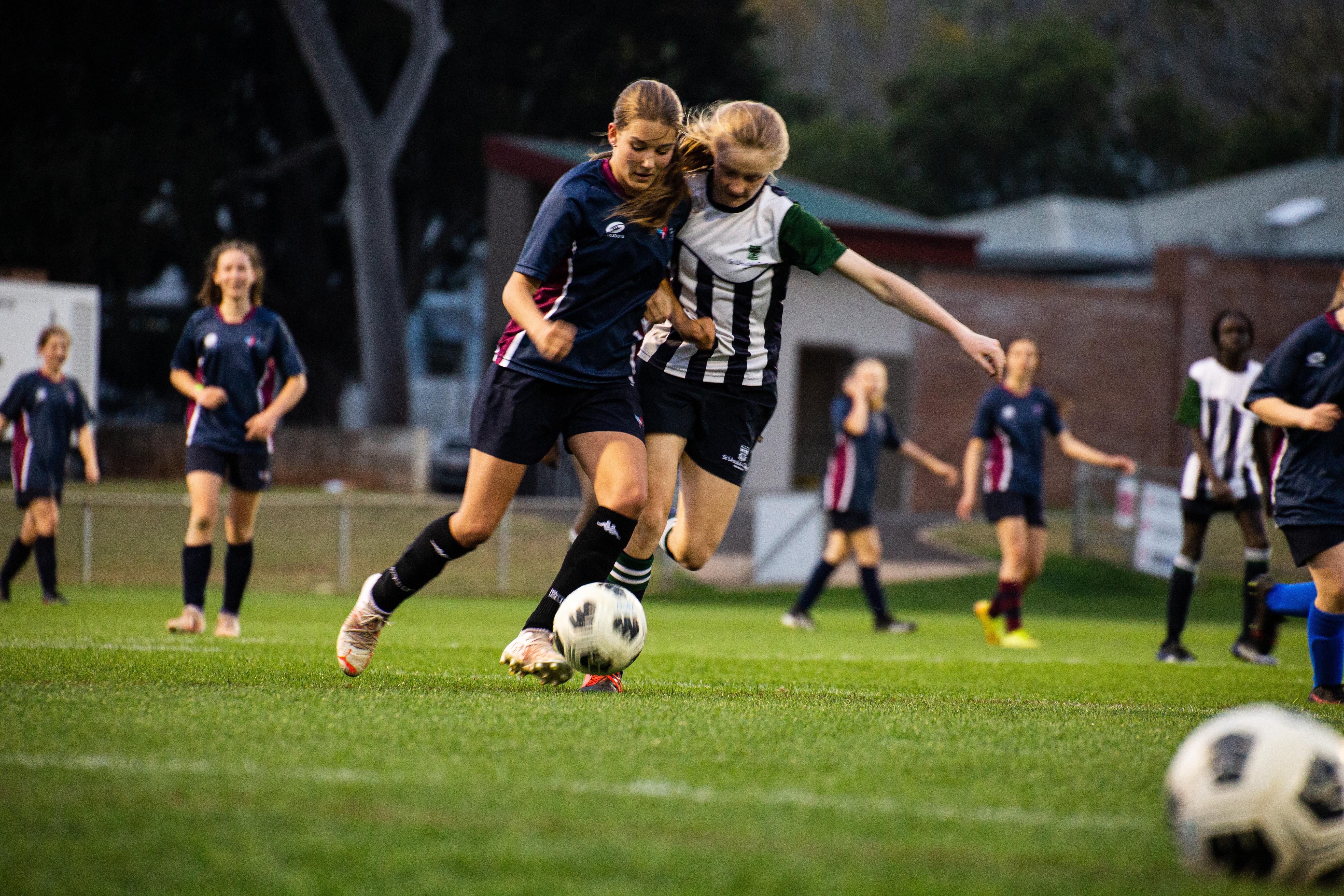 Mary MacKillop vs St Ursula's Soccer Grand Final 2021