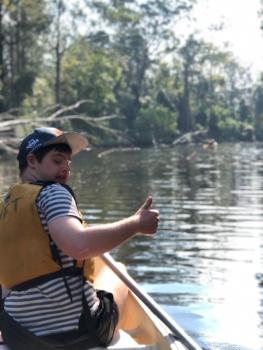 Shai In Canoe