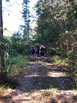 Yr 12 Hiking