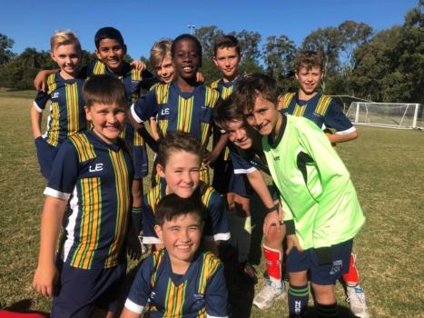 5 B Boys Soccer