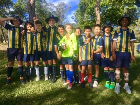 6 B Boys Soccer
