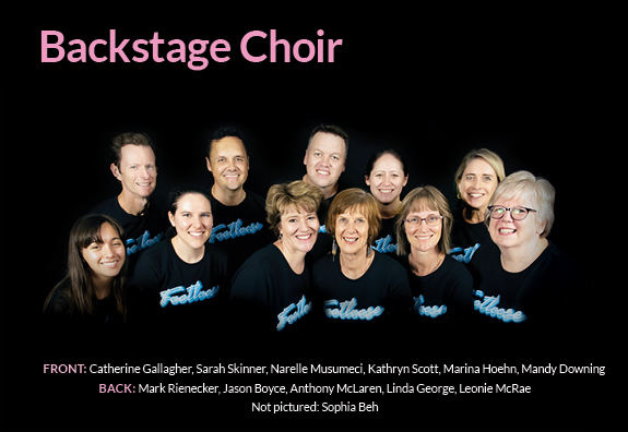 Footloose Program Fa4 Pageschoir