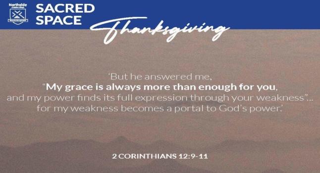 Sacred Space 2 Corinthians A4