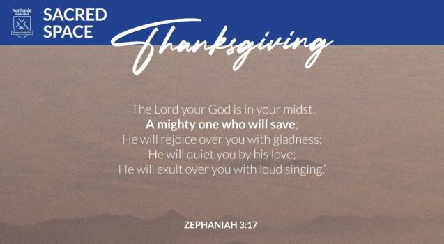 Sacred Space Zephaniah A4