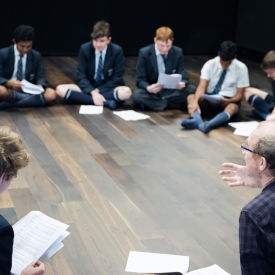 Rosana Niven Mr Burgess Y10 Drama Script Read Through