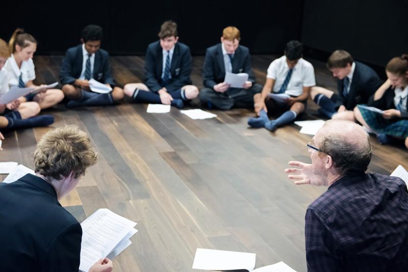 Rosana Niven Mr Burgess Y10 Drama Script Read Through 1