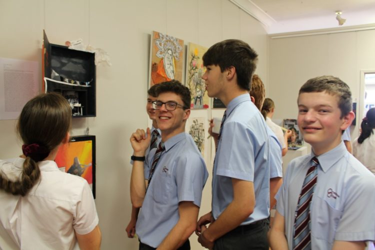 Year 9 Art Exhibition 12