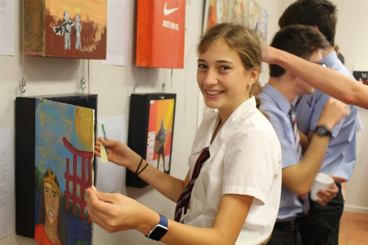 Year 9 Art Exhibition 14