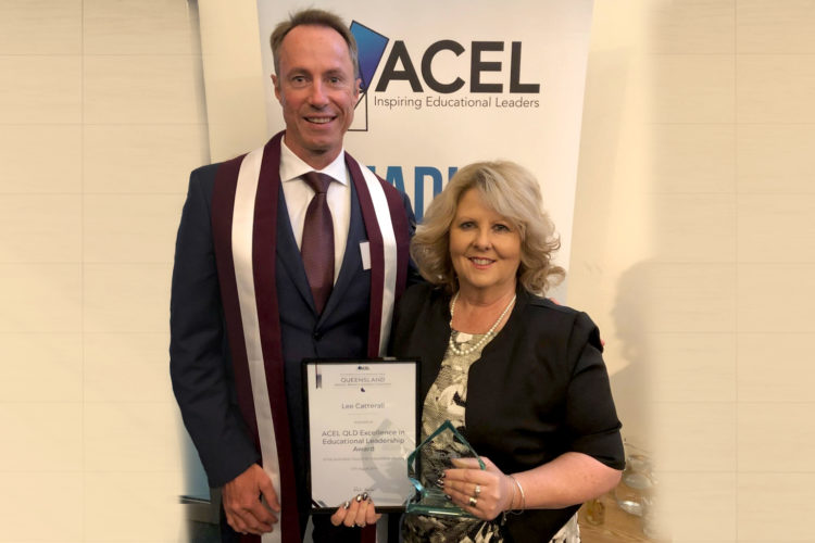 Lee Catterall Acel Qld Award 2